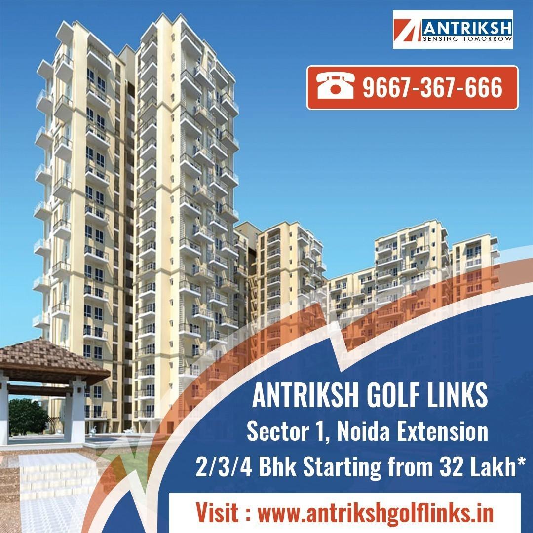 Antriksh Golf Links 234 Bhk Apartments Sector 1 Noida Extension